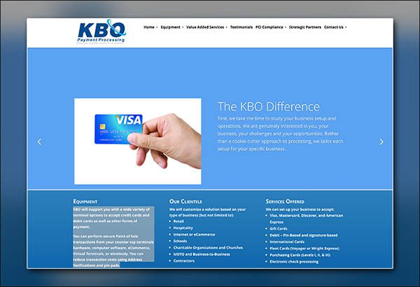 KBO Payment Processing Wordpress Website Designer Peachtree City